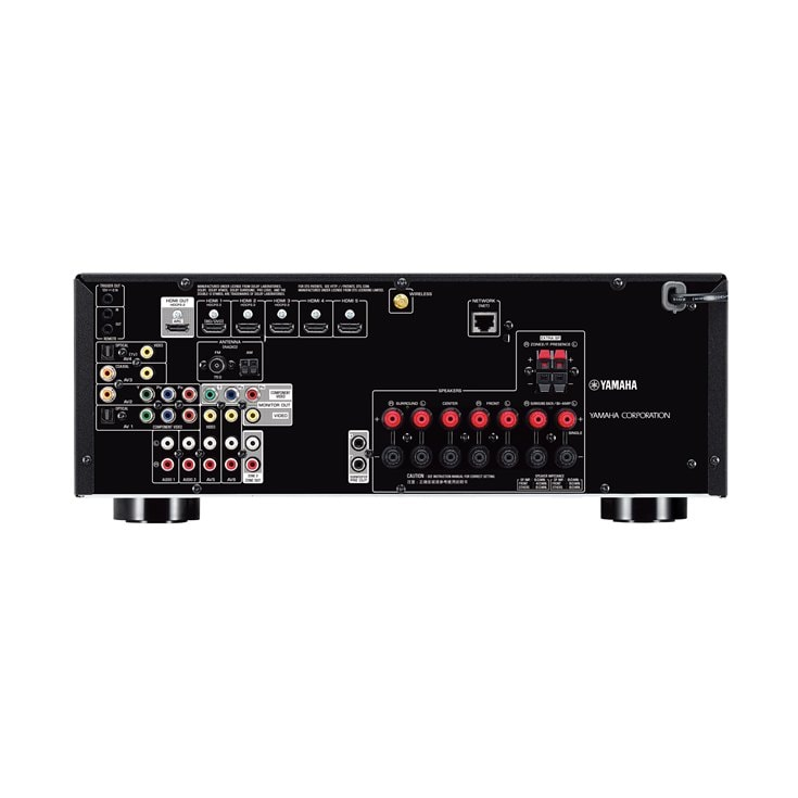 Rx V679 Overview Av Receivers Audio Visual