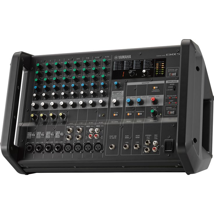 Emx7 Emx5 Overview Mixers Professional Audio