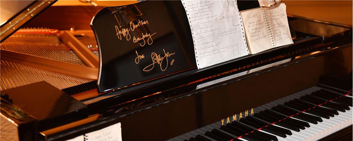 John Lewis, Elton John and Yamaha