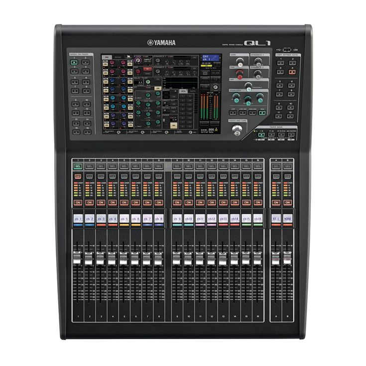 Ql series overview mixers professional audio for Yamaha ql 3